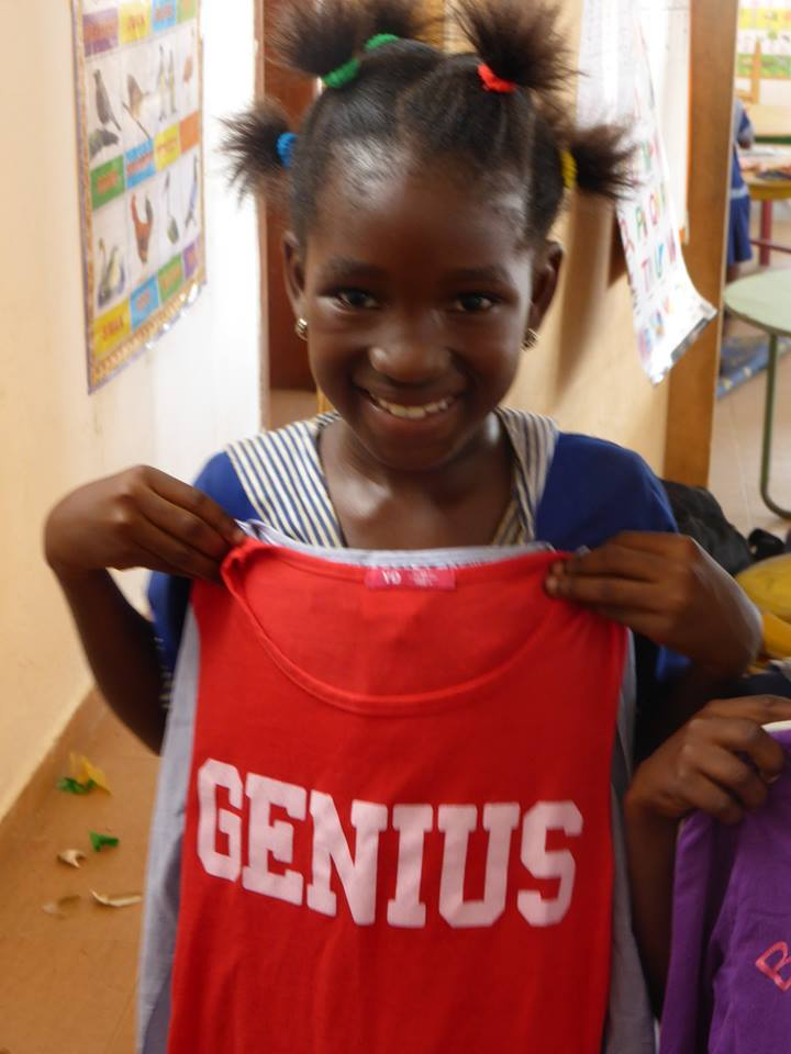 We nuture all our children to believe they are genius