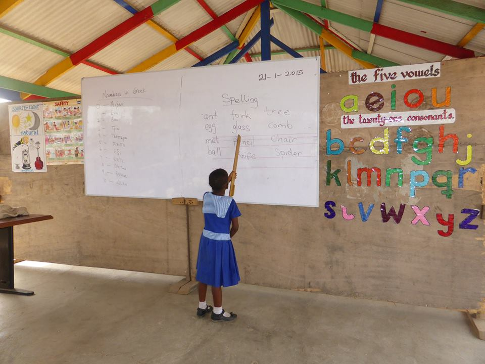 Spelling class as taught by one of our achievers